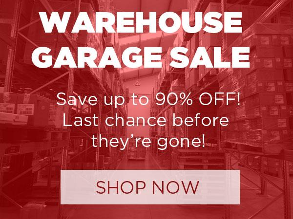 Shop Our Garage Sale