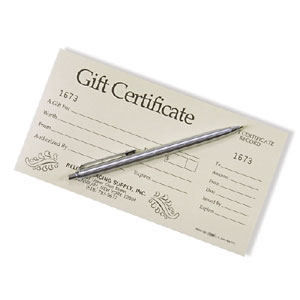 Reliable Racing Gift Certificates