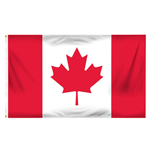 40707-3'X5' CANADIAN FLAG