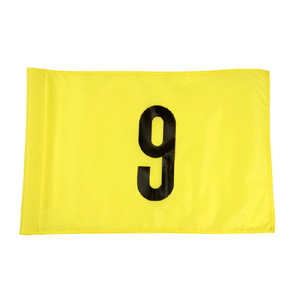 40850-Standard Stock Numbered Tube Style Pin Flags