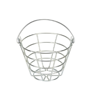 41221-Metal Ball Basket 25-30 Ball Capacity