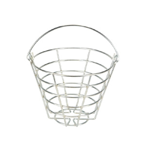 41223-Metal Ball Basket 35-40 Ball Capacity