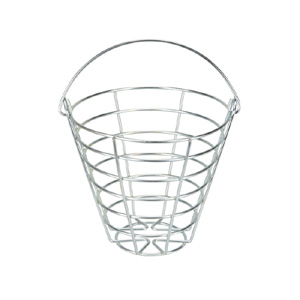 Zinc Ball Basket (holds 45-50 golf balls)