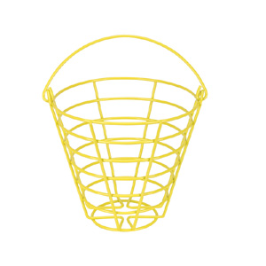 41226-Powder Coated Metal Ball Basket (holds 50 golf balls)