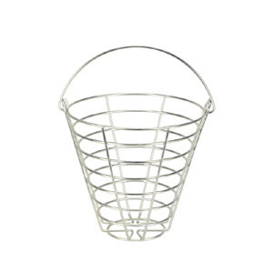 41229-Metal Ball Basket 65-70 Ball Capacity