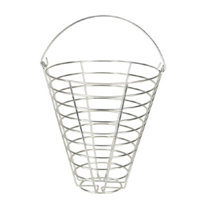 41233-Metal Ball Basket 90-105 Ball Capacity