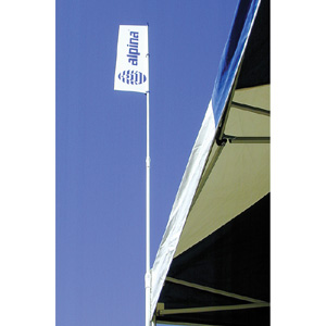 41499-HD Telescoping Flag Pole