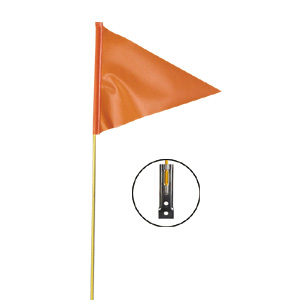 6 Foot Vehicle Warning Flag