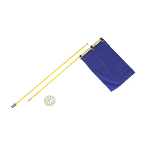 Back Yard Golf Set With Grommeted Flag Set