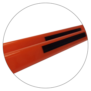 45679-SYN-BOO™ - Triangular Profile - Ski Hill Marking Pole