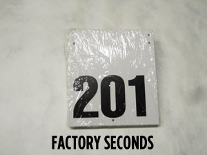 51844-RRS MT BIKE NUMBERS (FACTORY SECONDS)