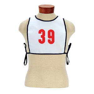 51907-Stock Cloth Numbered Bibs (Each)