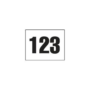 51913-Adhesive Helmet Numbers