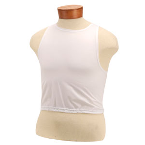 51922-Regular Blank White Stretch Bibs