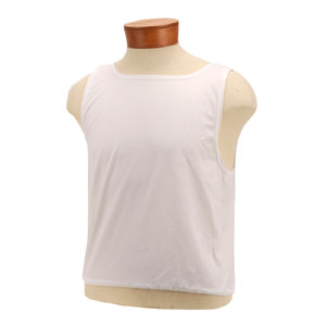 51937-Large Blank White Stretch Bibs
