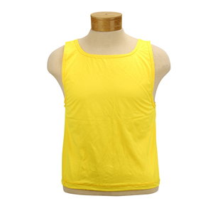 52114-Yellow Extra Large Blank Stretch Bibs