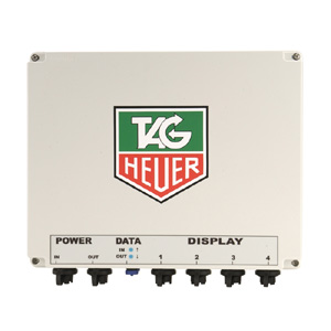 61325-TAG Heuer HL970-4 Control Box and Power Supply for HL970 Display