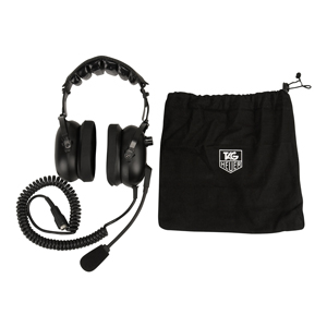61330-TAG Heuer HL551-1 Double Ear Headset Only