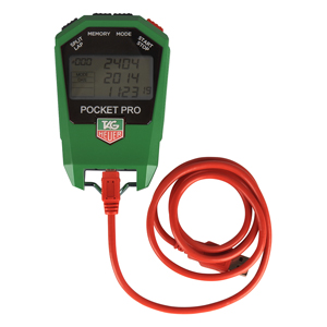 63237-TAG Heuer HL400W Pocket Pro Ski Stopwatch