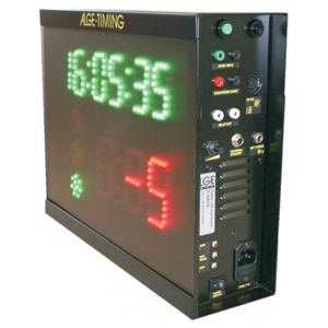 63261-ALGE ASC3 LED Start Clock with Battery and Remote