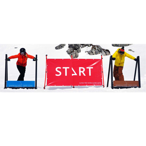 63272-ALPINE TREE START GATE (2) WITH REMOTE