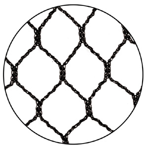 91306-6.5' x 150' Heavy Duty Poly Net