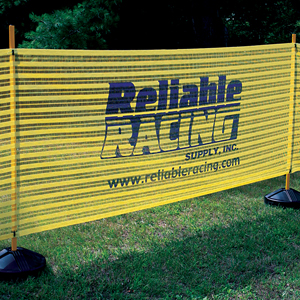 91382-Custom Imprinted Event Fence