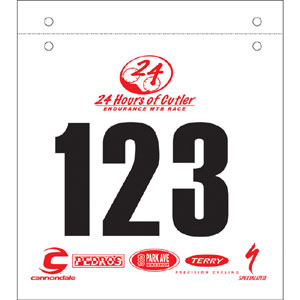 92123-Custom Mountain Bike Numbers