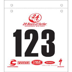 92123-Custom Mountain Bike Numbers