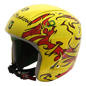 B1580YEL-Briko Phoenix Helmet 2011-12 NON FIS
