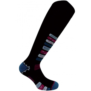 B4096-EUROSOCKS COMPRESSION SKI SOCKS WOMEN'S