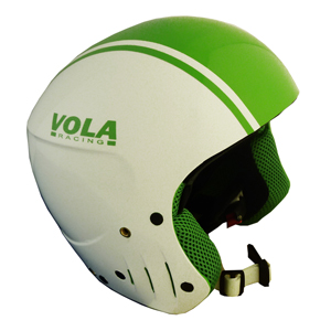 B4349-VOLA FIS HELMET APPLE GREEN