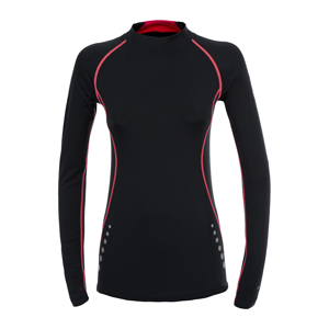 B4400-Trepass DLX Dasha Women's Compression Base Layer Top