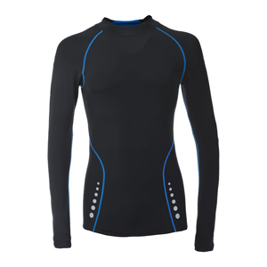 B4402-Trespass DLX Brawn Men's Compression Base Layer Top