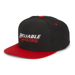 B4596-RR Logo Flat Bill Classic Snap Back Cap