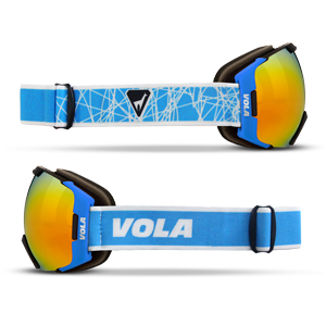 B4628-Vola Fast Race Goggle -Adult
