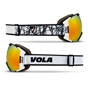 B4629-Vola Fast Race Goggle -Adult