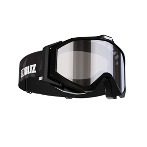 B4713-BLIZ EDGE GOGGLE WITH MIRROR LENS
