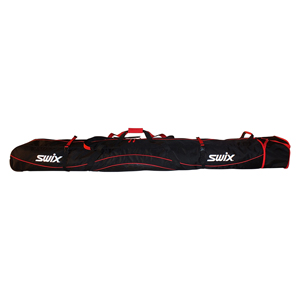 B4757-SWIX Padded Double Ski Bag with Wheels