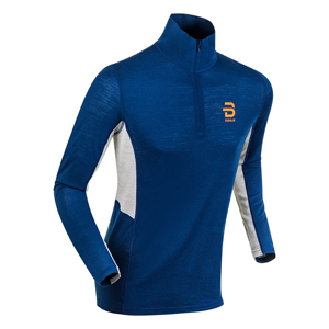 B4840-BJORN DAEHLIE MEN'S WOOL HALF ZIP TOP