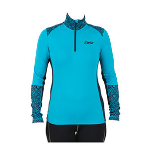 B4933-SWIX WOMEN'S MYRENE HALF ZIP MIDLAYER TOP