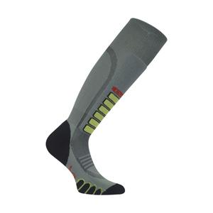 b2012GRY-EuroSock Silver Supreme Ski Socks
