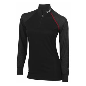 Swix Pro Fit Windproof Zip T-Neck-Women's