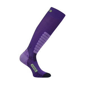 b3113-EuroSocks Sweet Silver Women's Ski Sock 2015