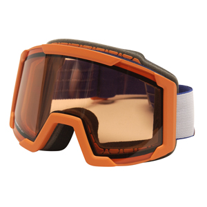 b3428-Briko Lava Junior Goggle with Thrama Red Double Lens