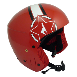 b4158-Vola Race Red FIS Helmet
