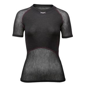 b4323-Brynje Women's Wool Thermo Light Mesh Short Sleeve Top