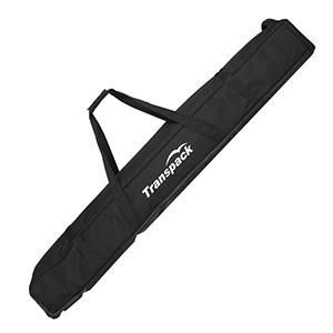 b4653-Transpack Padded Rolling Double Ski Bag