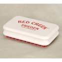 Red Creek Red Nylon Finish Brush