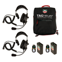 TAG Heuer HL551S 2 Station Single Ear Headset